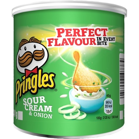 Pringles 40g Sour Cream & Onion
