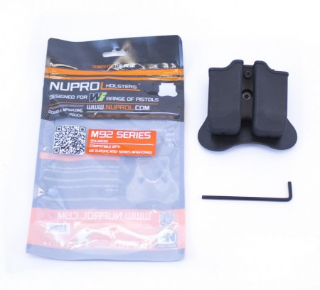 Nuprol M92 series Double Magazine Holder