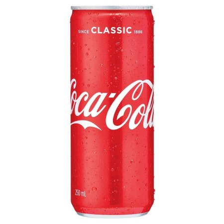 Coca Cola Slim Can 330ml