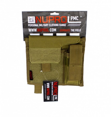 Nuprol PMC Admin Pouch Tan