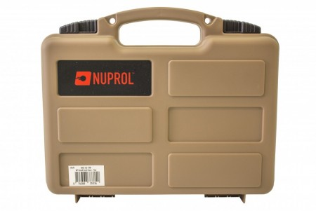 *B-V* Nuprol Small Hard Case Tan PnP