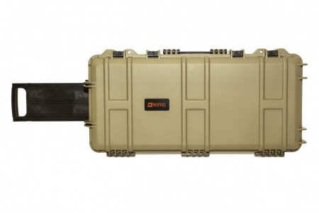 *B-V* Nuprol SMG Hard Case Tan PnP